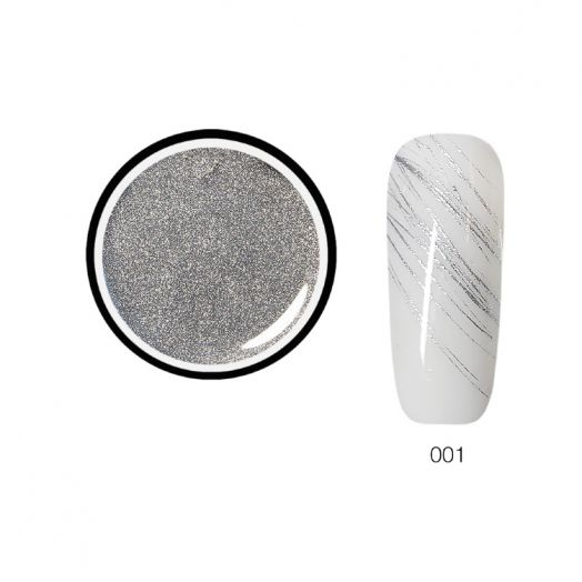 Гель паутинка SH METAL Spider Gel 5 г. серебро