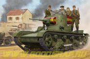 Танк Soviet T-26 Light Infantry Tank Mod. 1935