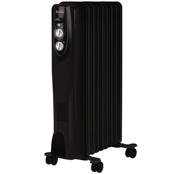 Масляный радиатор Ballu BOH/CL-09BRN black (НС-1050889)