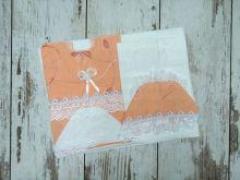 Комплект на выписку 6 предметов от 230 ₽ оранжевый / Мамин Малыш