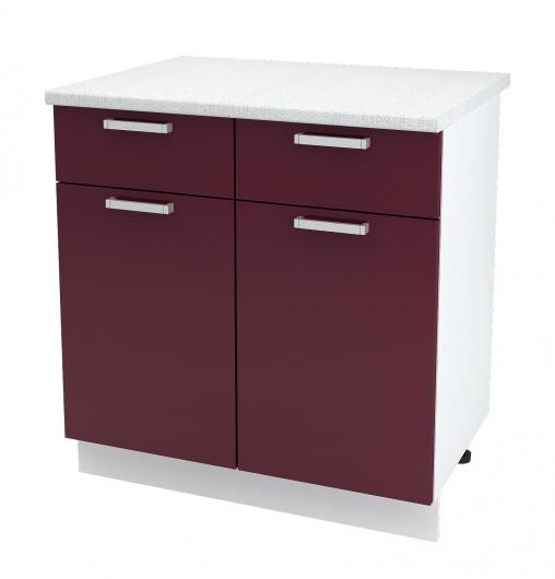 Шкаф нижний с 2 ящиками Джулия ШН1Я 800