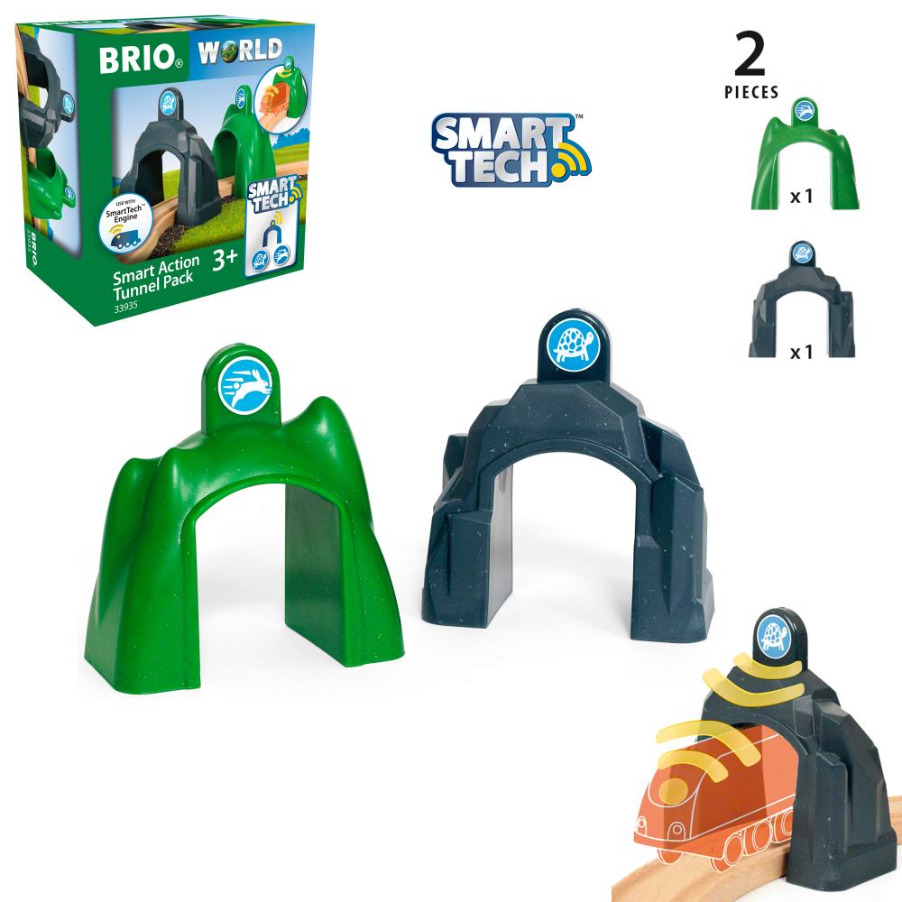 BRIO Smart Tech Набор туннелей