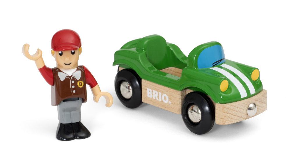 BRIO Спортивная машинка (2 элемента), блистер 15,3х4х13,3 см.