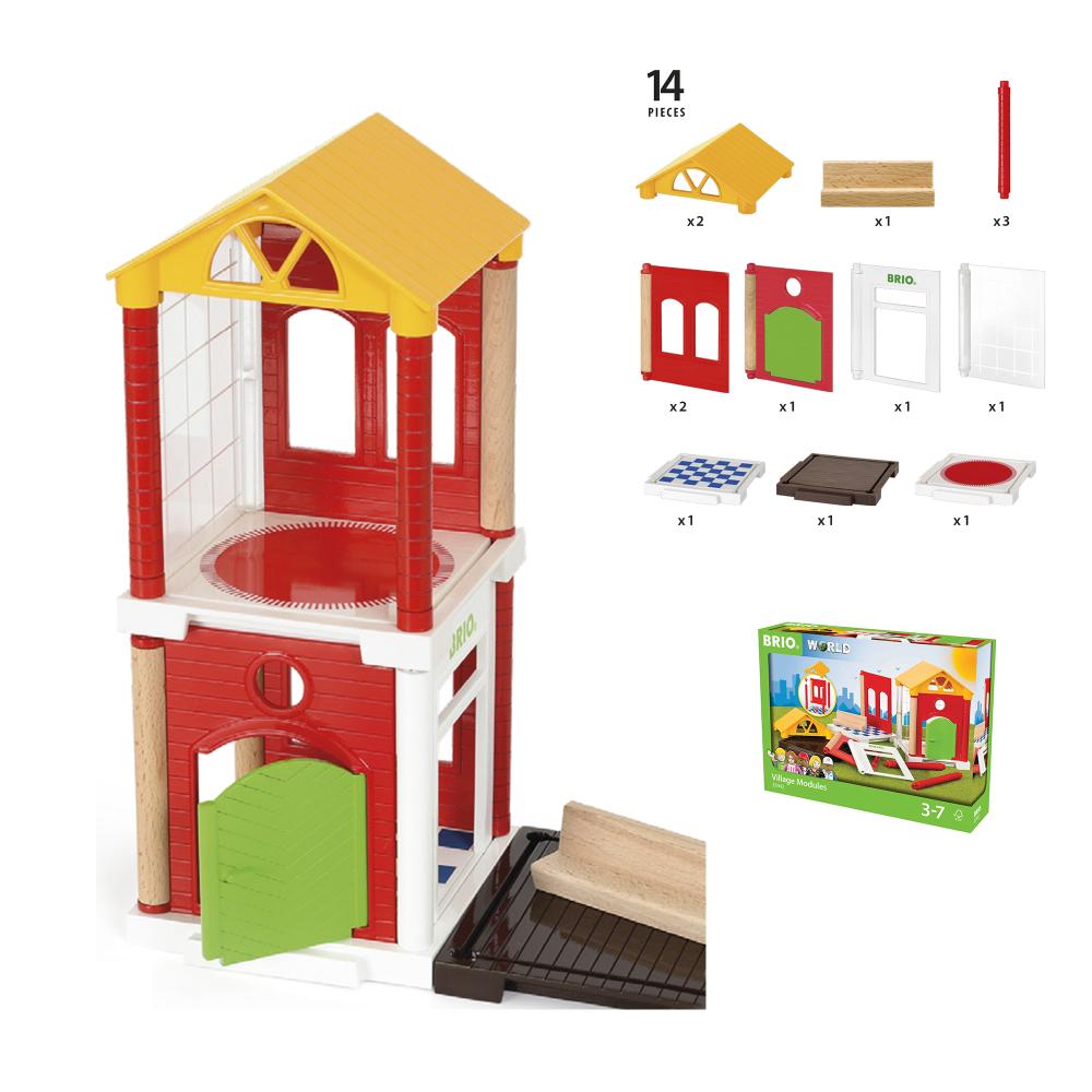 BRIO игр.наб.доп.деталей для построения дома,14 предм.,26х6х19см,кор.