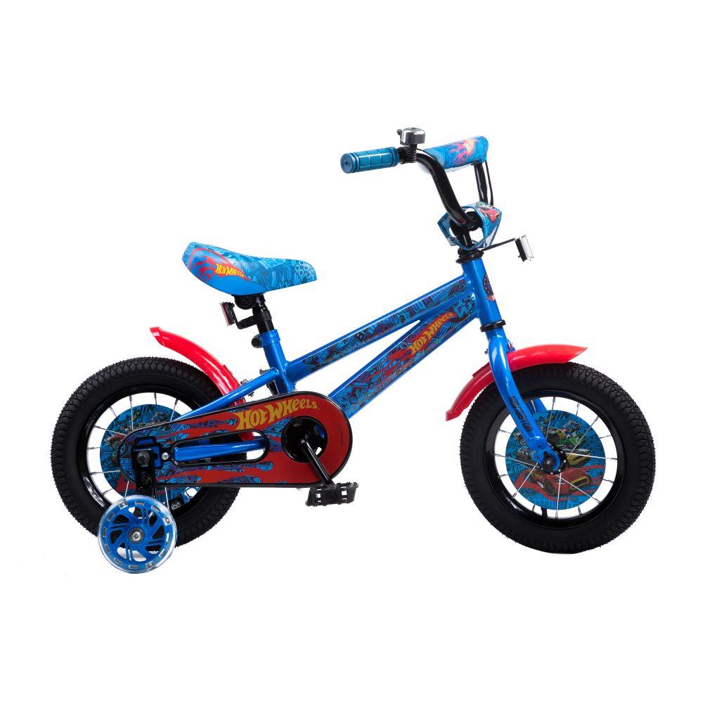 Детский велосипед, Hot Wheels, колеса 12