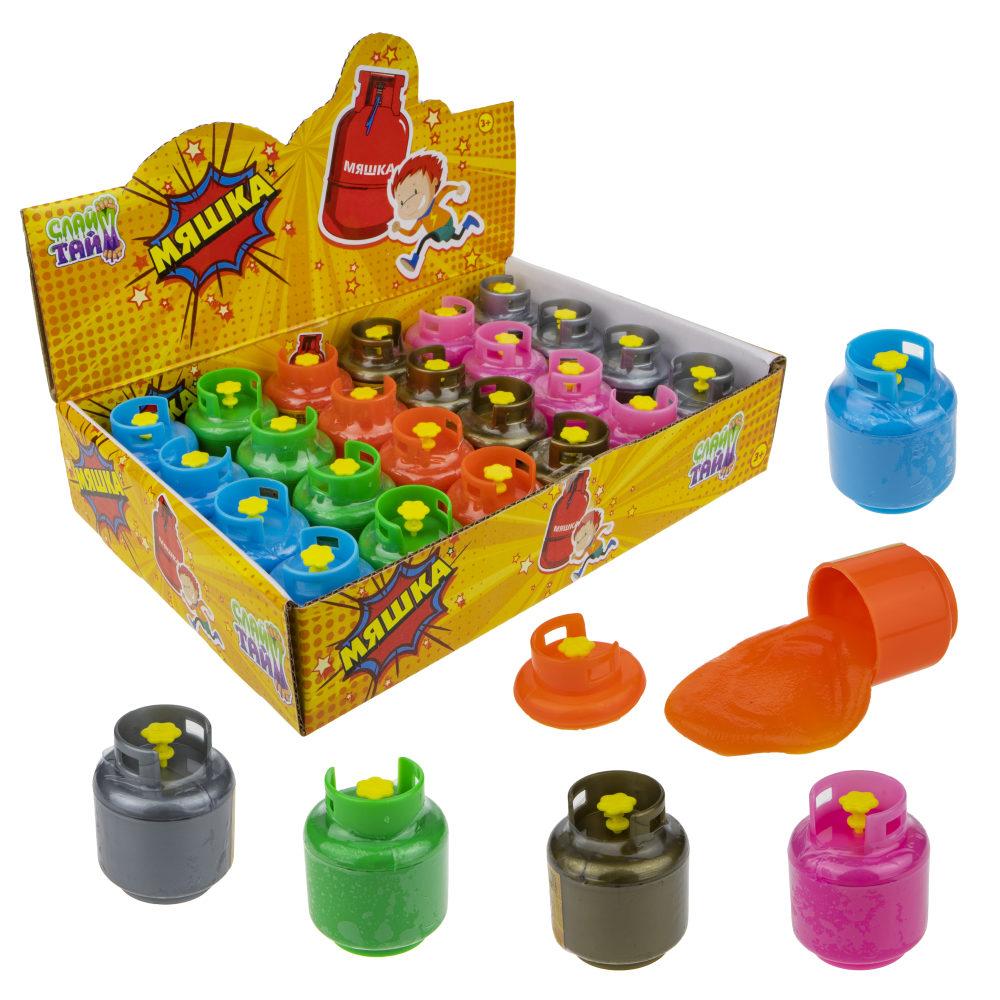 1toy Мелкие пакости, мяшка, газовый балон, 6 цветов, 17гр