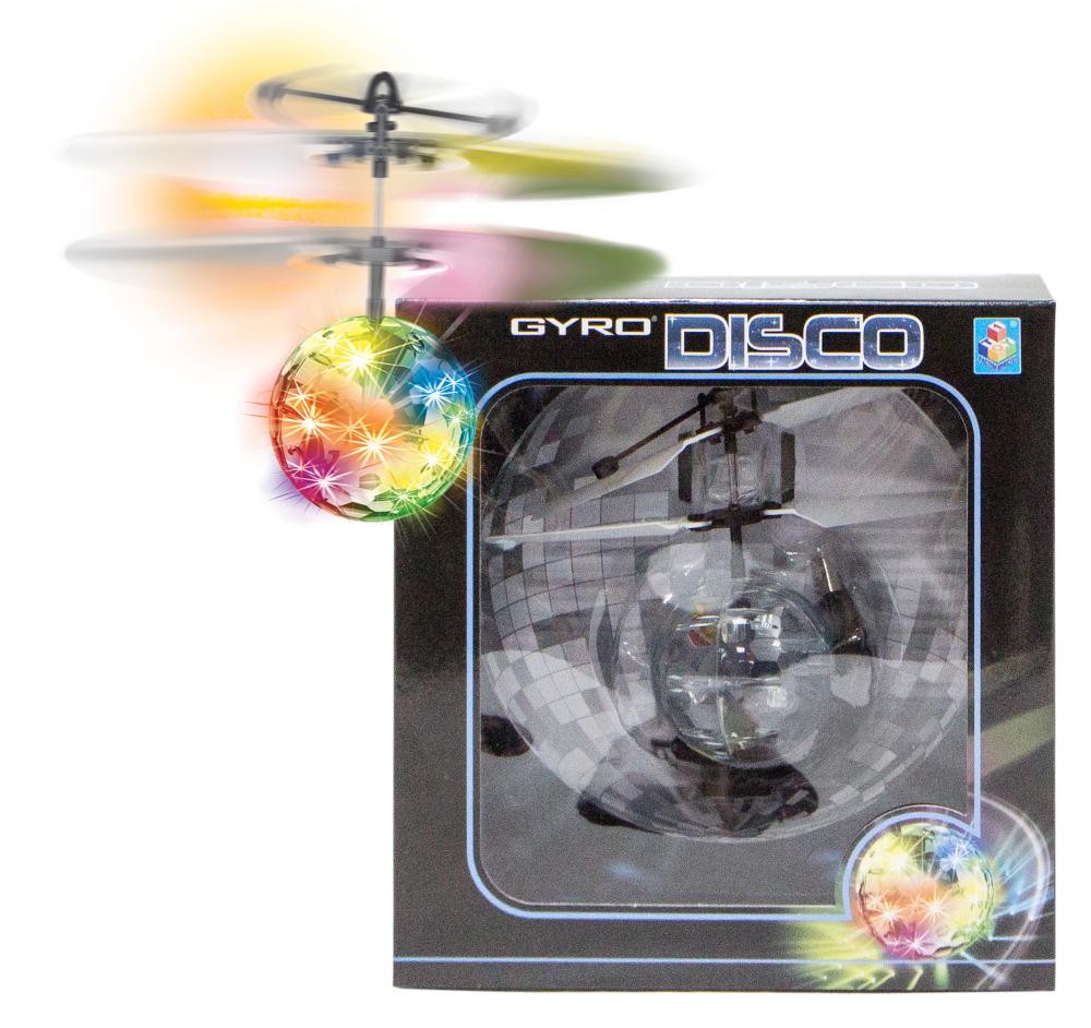 1toy Gyro-Disco, шар на сенсорном управлении, со светом, диаметр 4,5 см, коробка