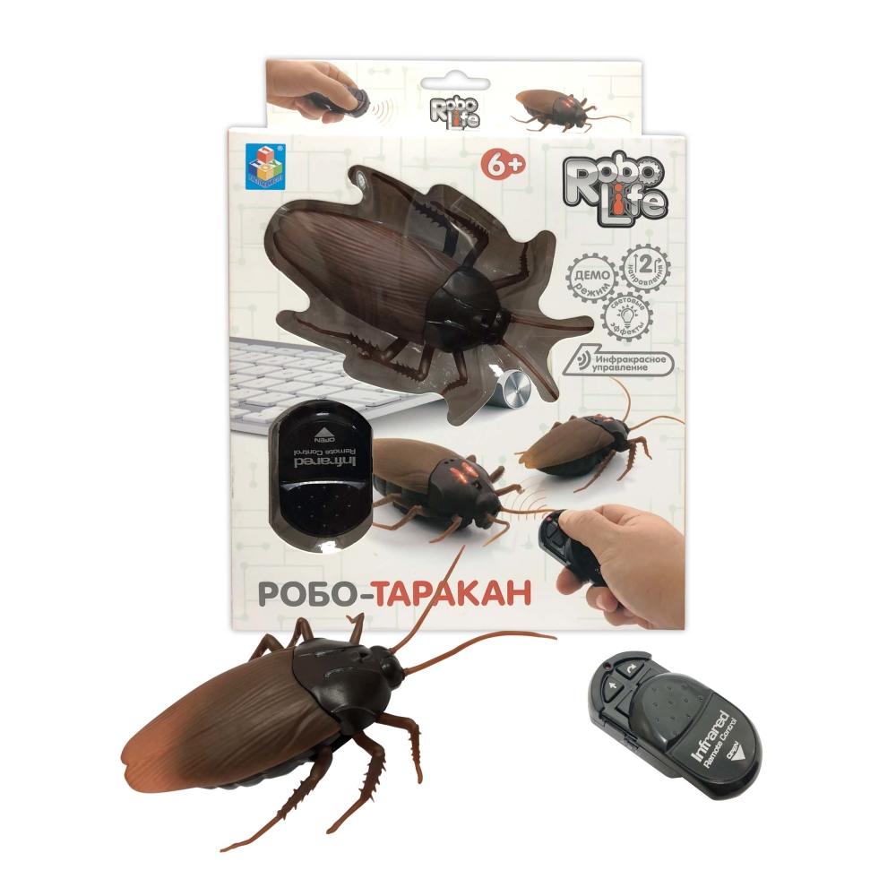 1toy, Робо-таракан на ИК управлении, свет эффекты