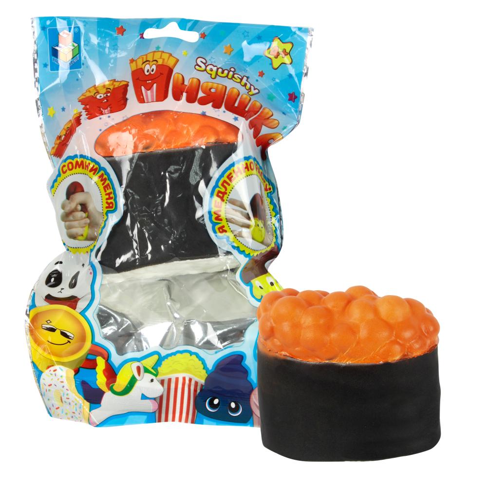 1toy игрушка-антистресс мммняшка squishy (сквиши), суши w27/7/8/4.5
