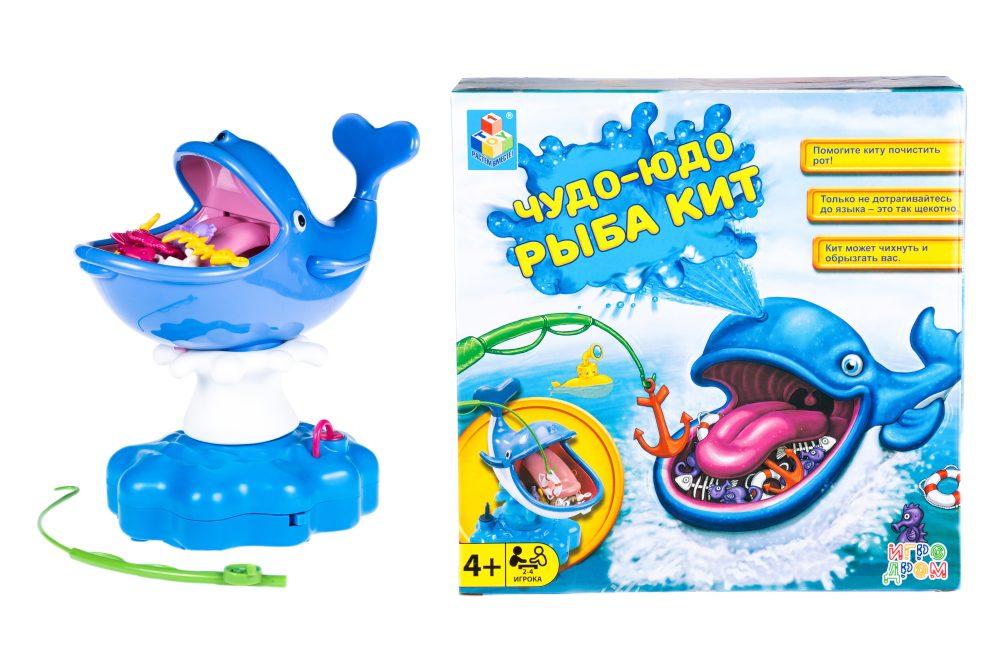 1toy ИГРОДРОМ Игра настольная ЧУДО-ЮДО рыба кит