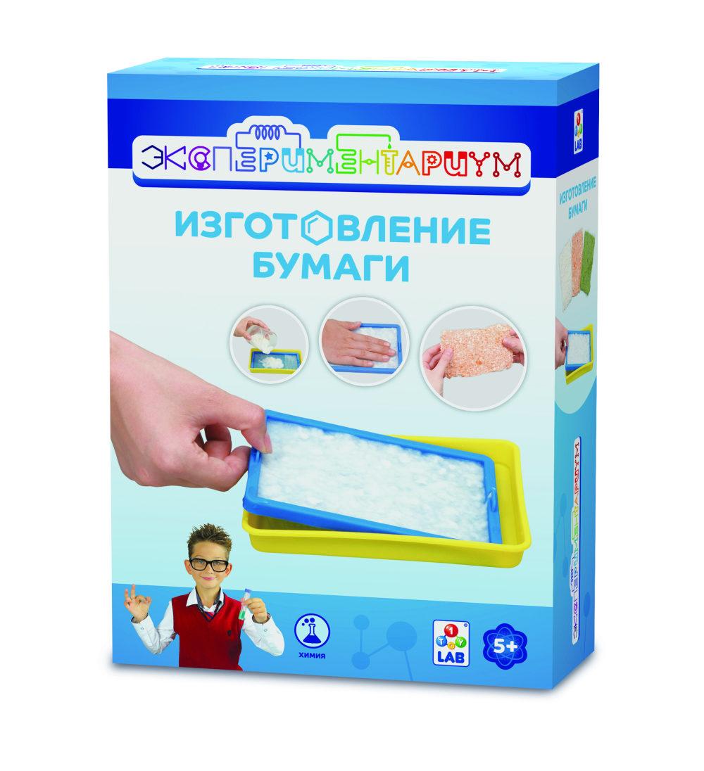ЭКСПЕРИМЕНТАРИУМ Набор Изготовление бумаги