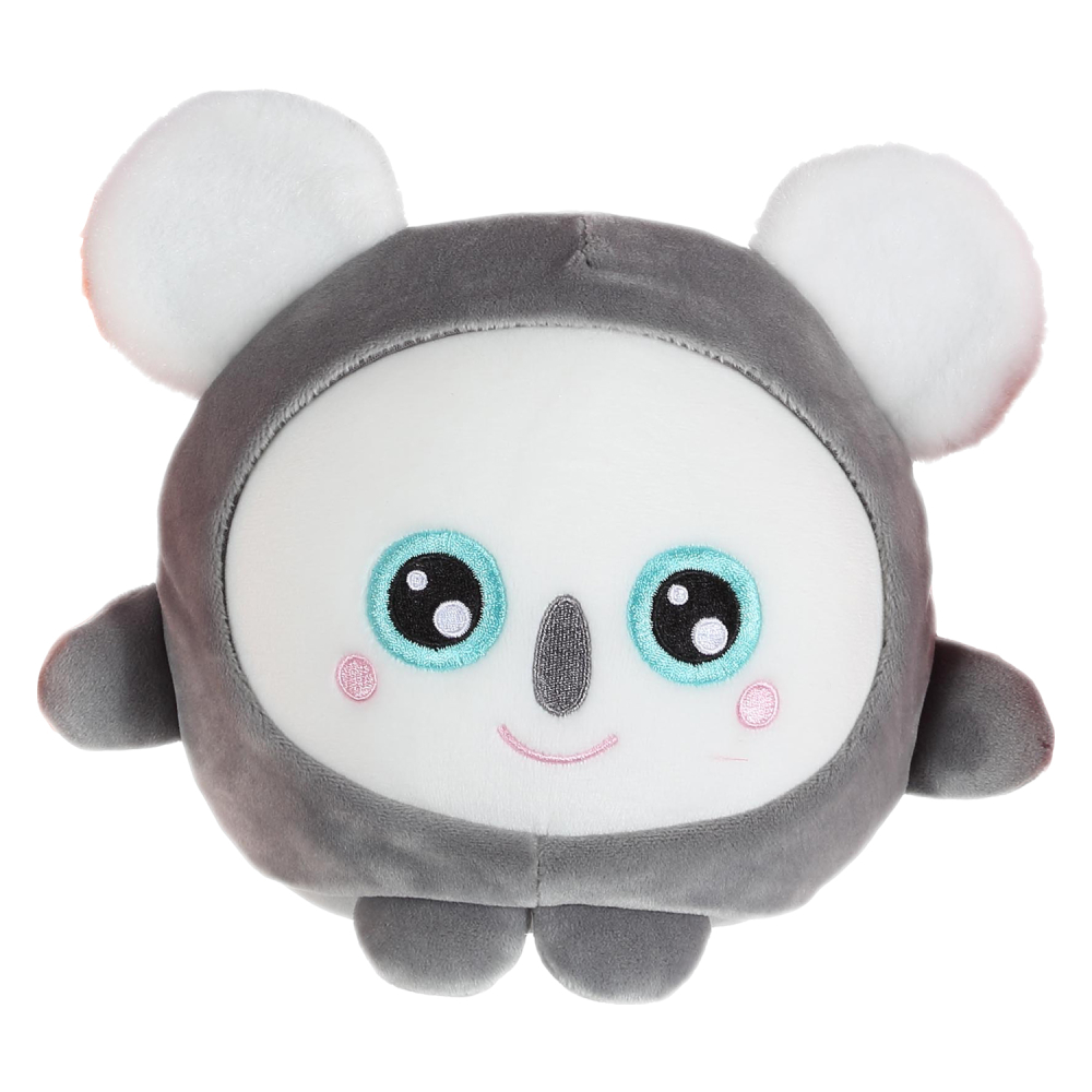 1toy Squishimals плюш.серая коала 20 см,бирка,пакет