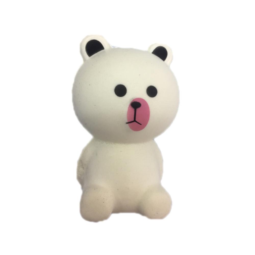 1toy игрушка-антистресс мммняшка squishy (сквиши), белый медвежонок,10,5 см