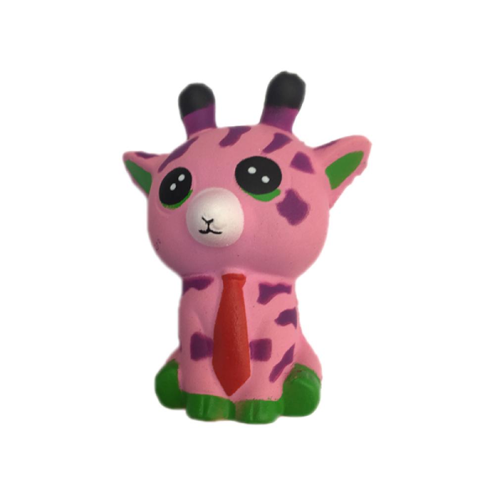 1toy игрушка-антистресс мммняшка squishy (сквиши), жирафик 9,5 см