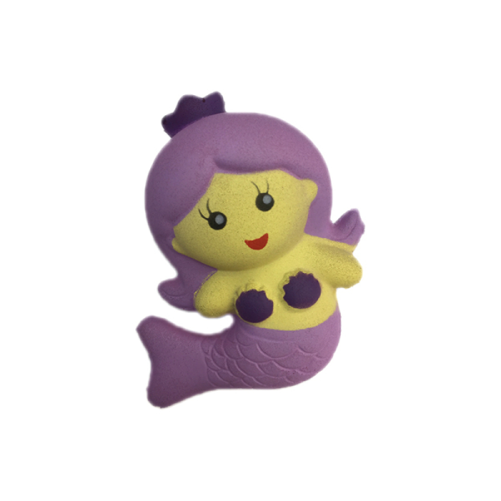 1toy игрушка-антистресс мммняшка squishy (сквиши), русалочка,9 см