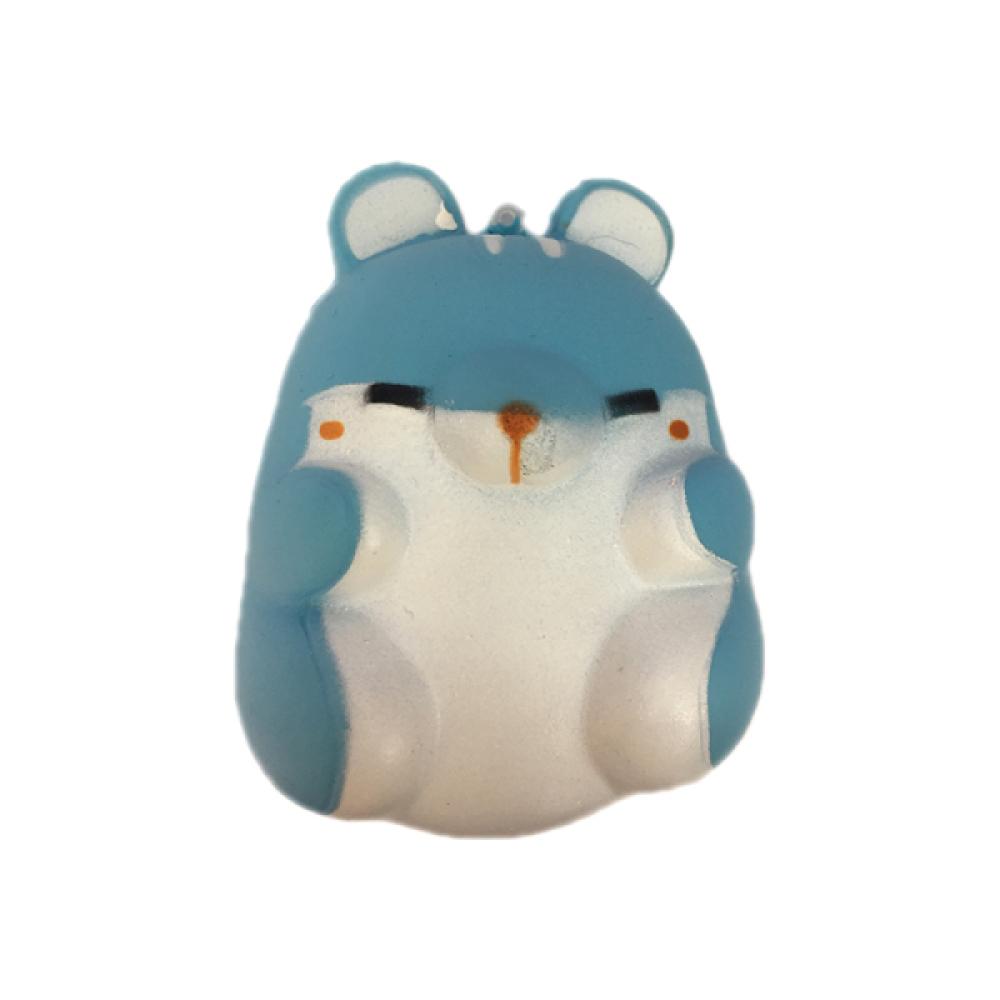 1toy игрушка-антистресс мммняшка squishy (сквиши),  хомячок,9,5 см