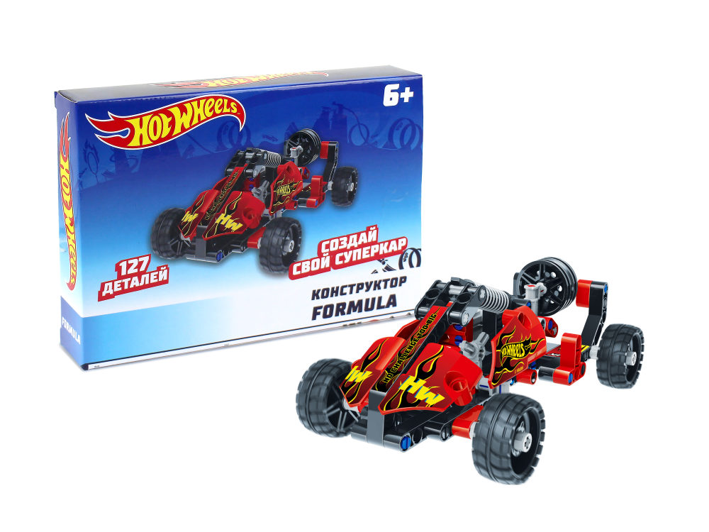 Hot Wheels Конструктор Formula (127 деталей)