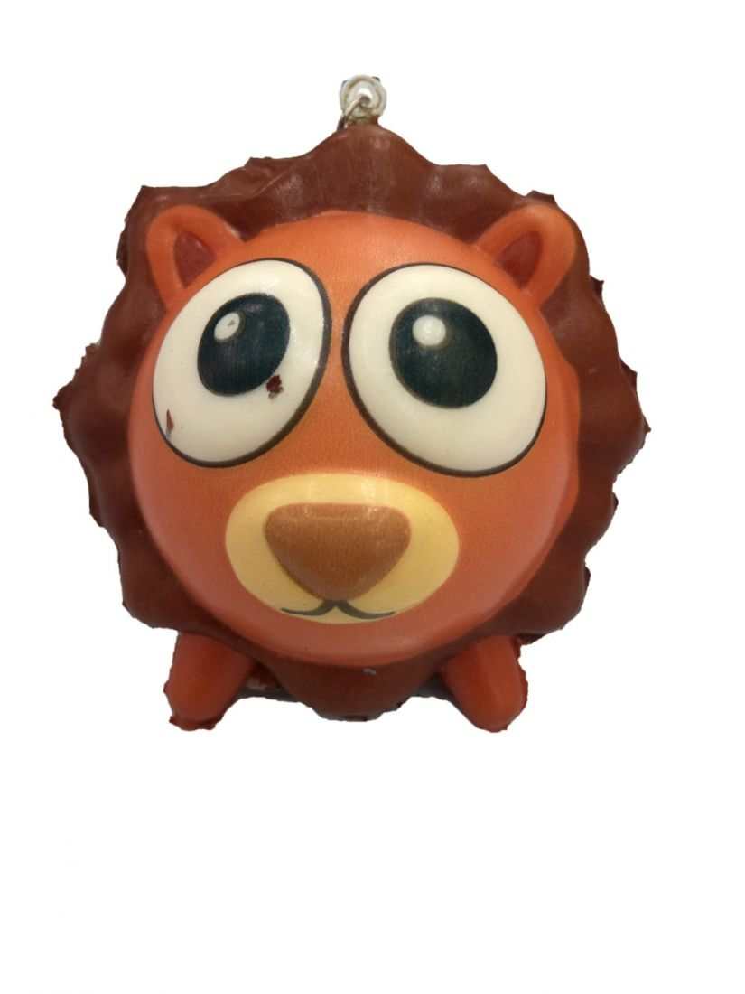 1toy игрушка-антистресс мммняшка squishy (сквиши), шарики-звери, лев