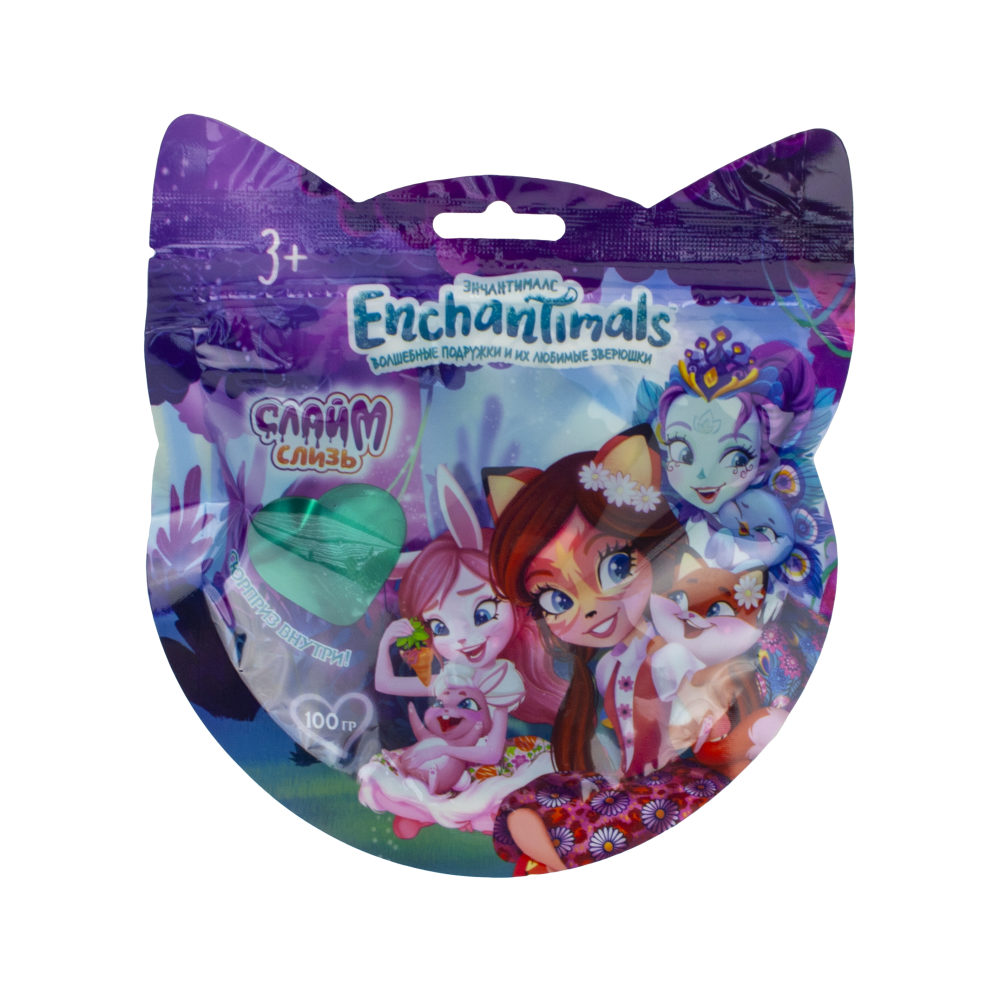 Слизь Enchantimals в пакете