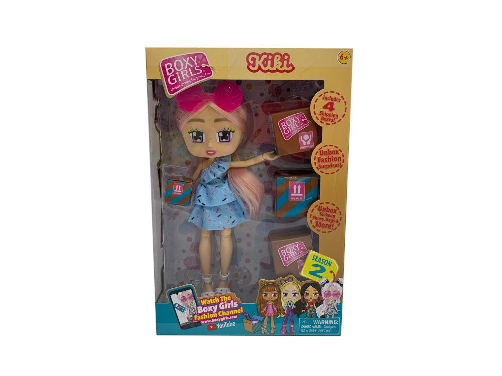 1toy Кукла Boxy Girls Kiki 20 см. с аксессуарами в 4х коробочках, кор.