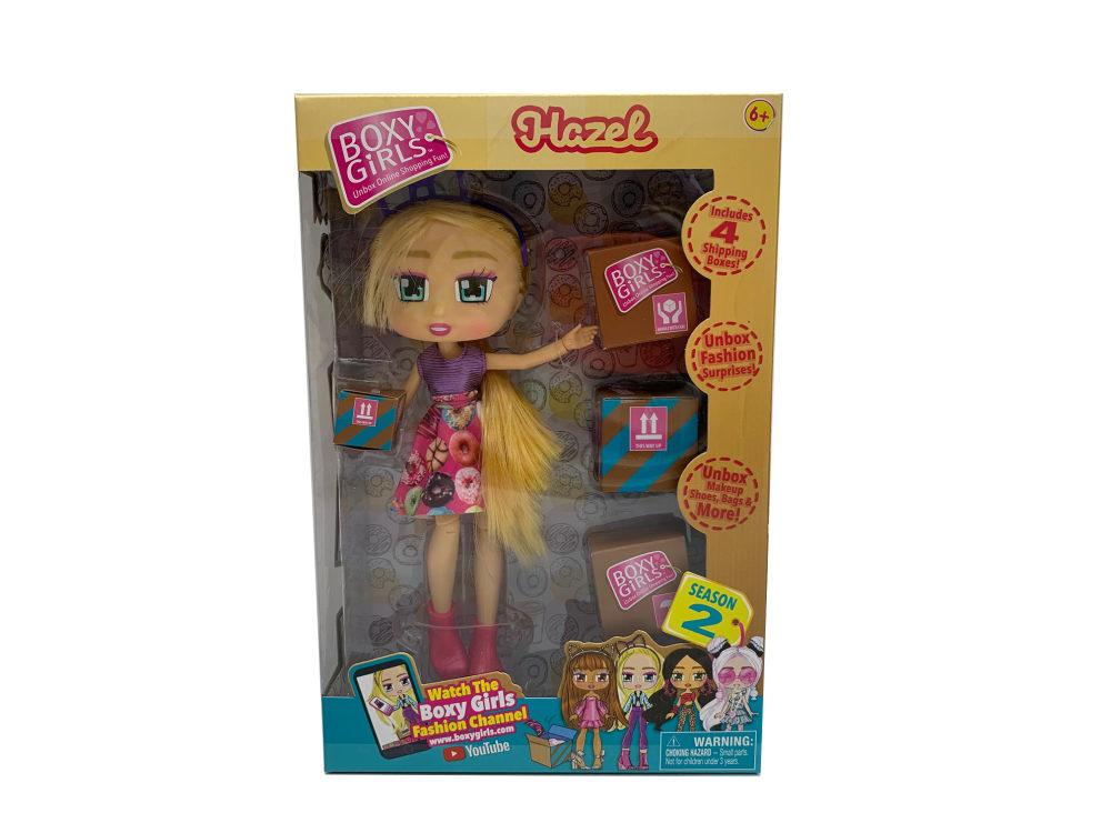1toy Кукла Boxy Girls Hazel 20 см. с аксессуарами в 4х коробочках, кор.