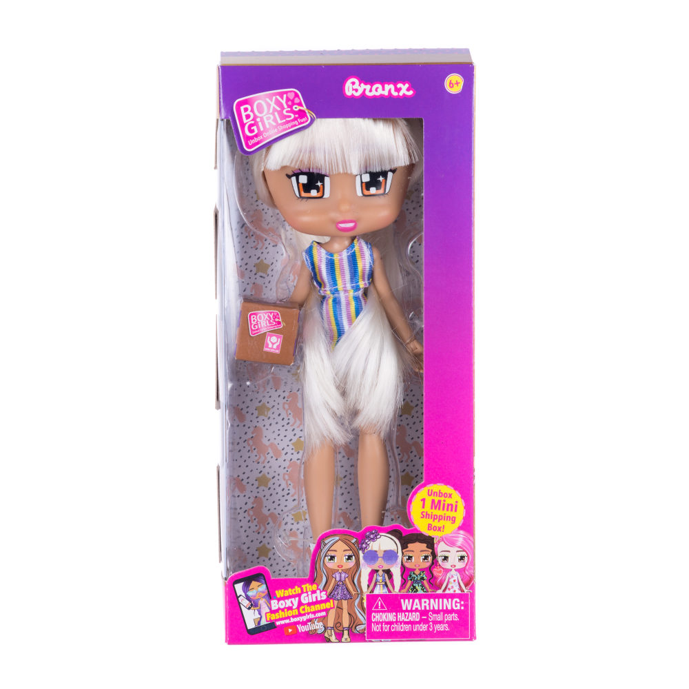 1toy Кукла Boxy Girls Bronx 20 см. с аксессуаром в 1 коробочке, кор.