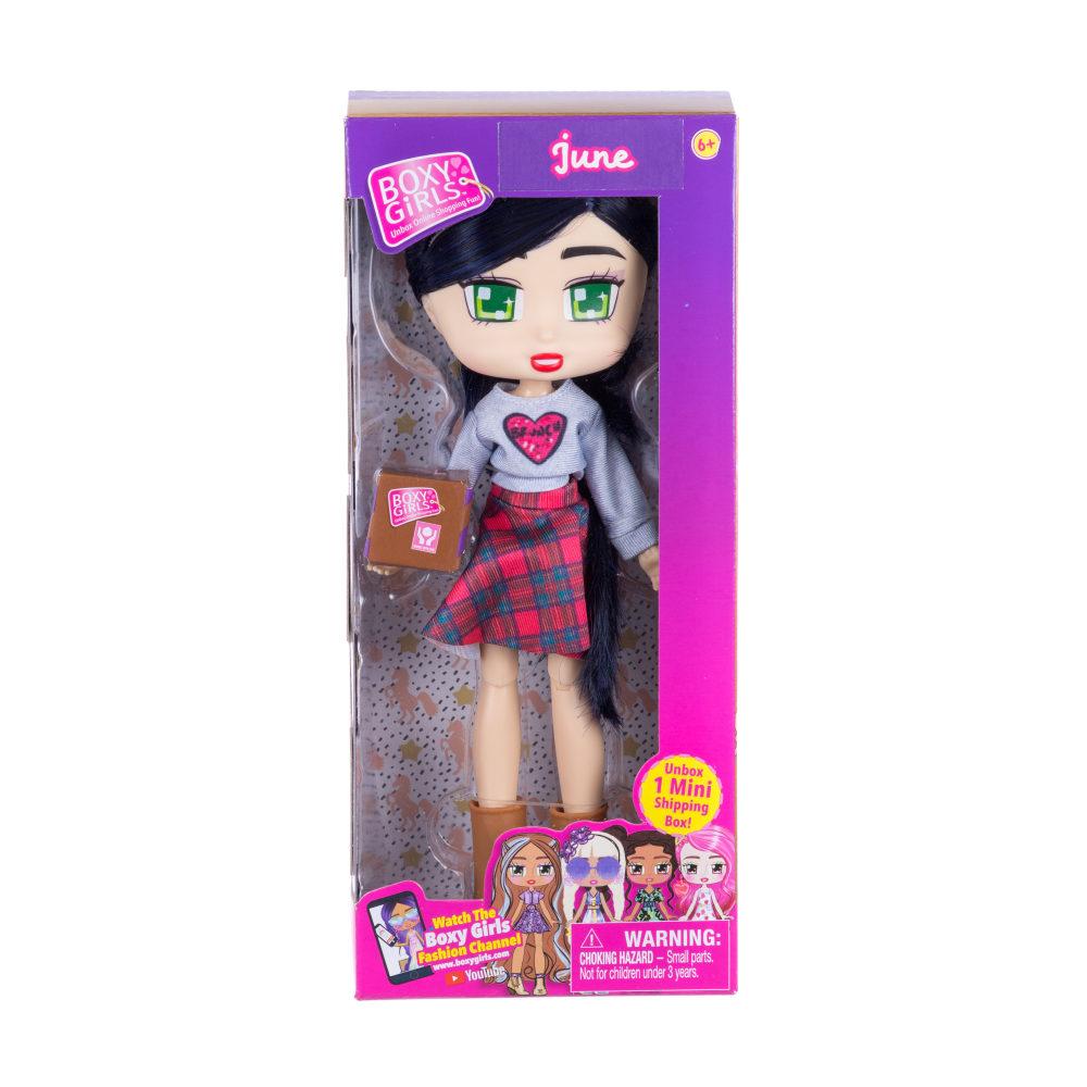 1toy Кукла Boxy Girls June 20 см. с аксессуаром в 1 коробочке, кор.