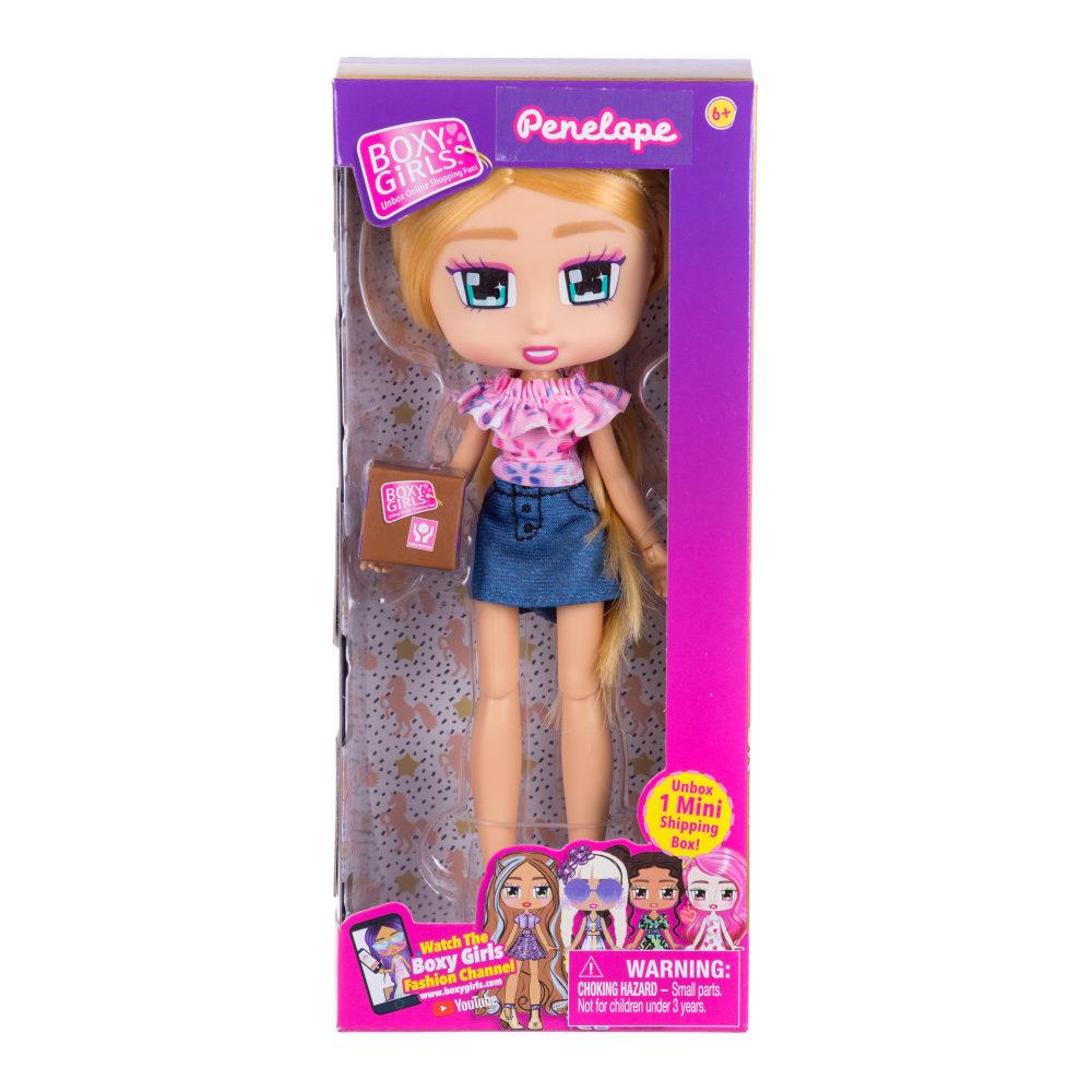 1toy Кукла Boxy Girls Penelope 20 см. с аксессуаром в 1 коробочке, кор.