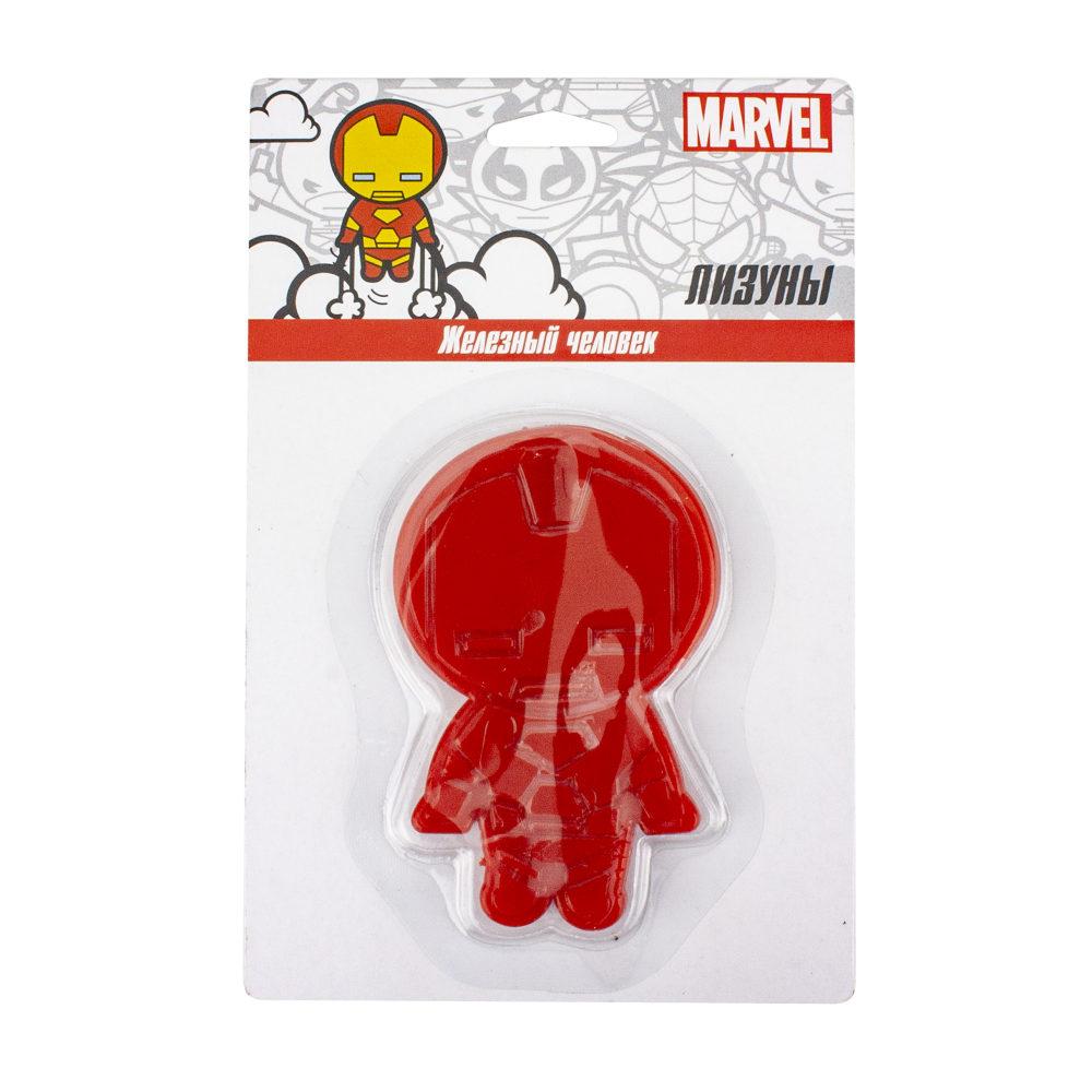 Лизун Marvel. Железный человек в упаковке 16х10,5 см