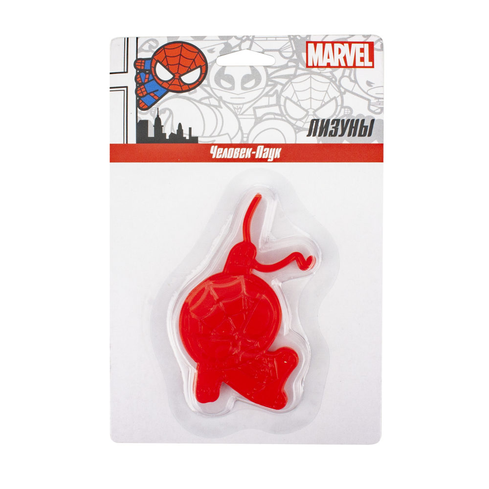 Лизун Marvel. Человек-Паук в упаковке 16х10,5 см