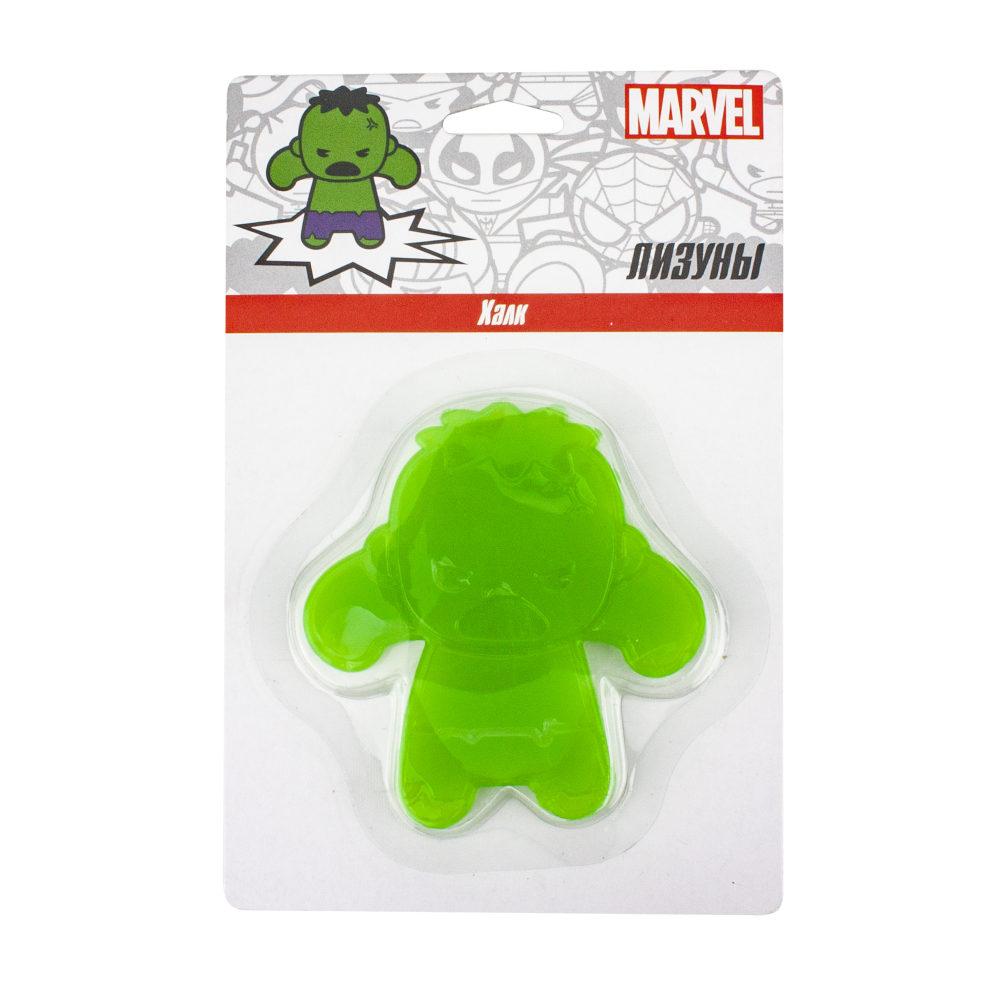 Лизун Marvel. Халк в упаковке 16х10,5 см