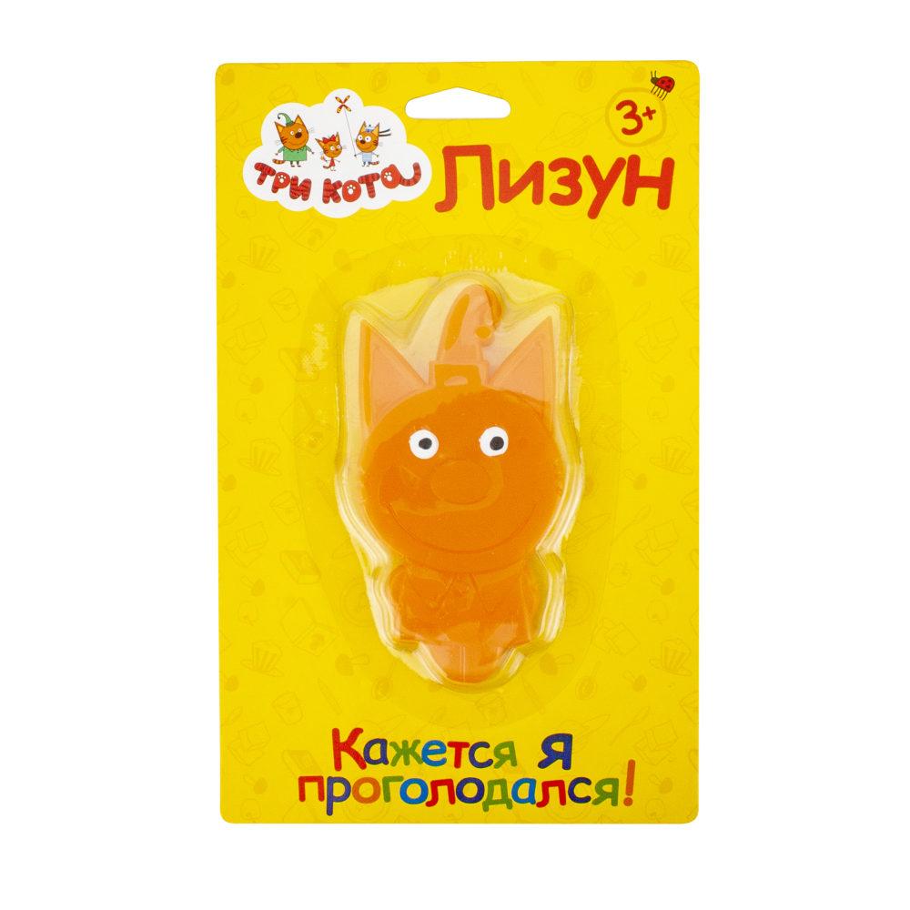 Лизун ТРИ КОТА. Компот в упаковке 16х10,5 см