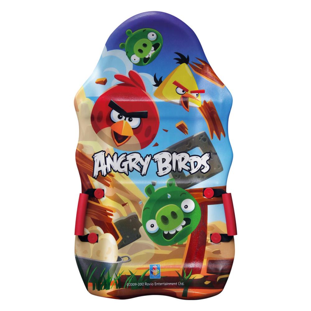1toy Angry Birds ледянка 94см выпукл.с плотн.с ручками