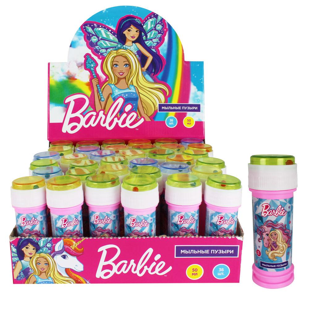 1toy Barbie, мыл.пуз., 50мл, в д./б.