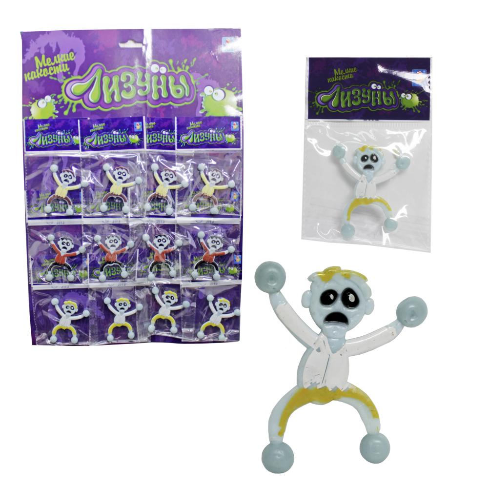 1toy Мелкие пакости Лизуны зомби 6 см, пакет, 3 вида, 12 шт.ОРР