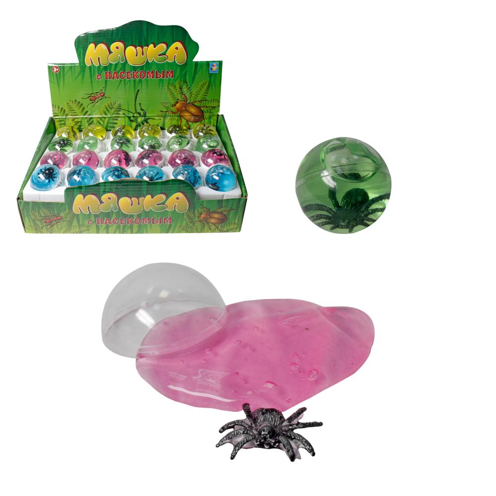 1toy Мелкие пакости, мяшка, фигурка насекомое, шар
