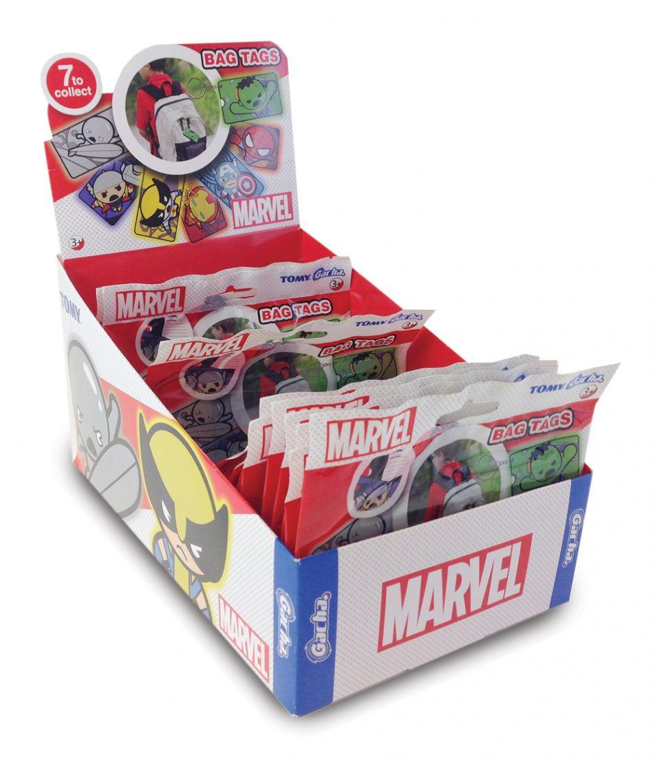 Tomy брелок Марвел Супергерои (Marvel Avengers), 10см, 7 видов,слепой пакет,д-бокс
