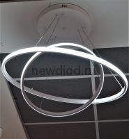 Управляемый подвесной светильник Asteroid 9025-40+60 50W-13м² 400*600*1200mm пульт ал бел Oreol