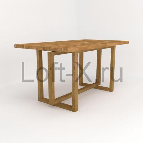 """Обеденный стол """"Tempcof"""" из массива дуба"""