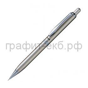 Карандаш мех.0.5мм Pentel металл.корпус лазерная гравировка A810