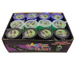 12 Лизунов-антистресс для рук Barrel-O-Slime