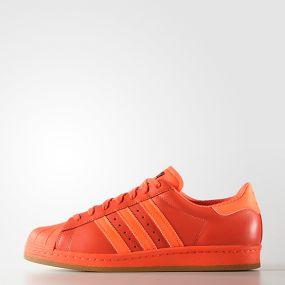 Кеды adidas Superstar 80s Reflective Nite Jogger  оранжевые