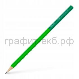 Карандаш ч/г Faber-Castell Grip 2001 Two Tone B 517060/517072