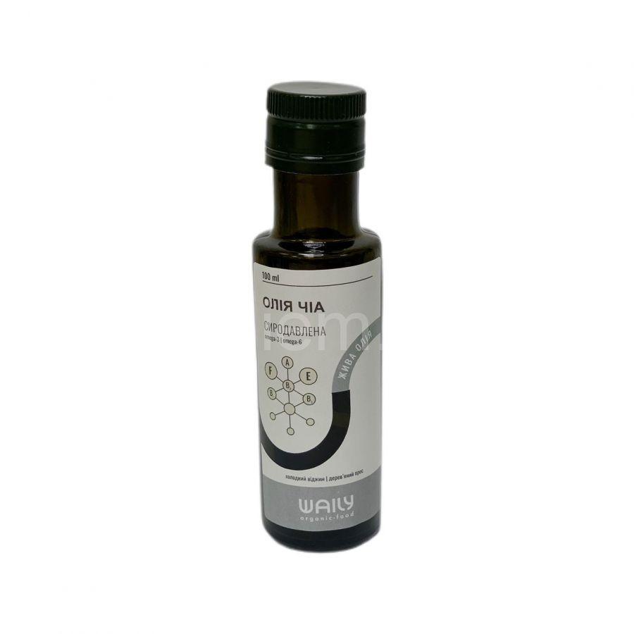 Сыродавленное масло Чиа Waily Organic Food,100 мл