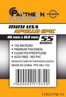 Протекторы Pantheon 41x63 USA Mini Premium (55 шт.)