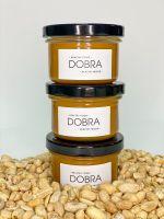 Карамель  соленая с арахисом Dobra,100 грамм