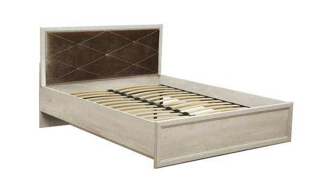 Кровать двуспальная с ортопедическим осн. 32.25 - 01 Сохо (1400)