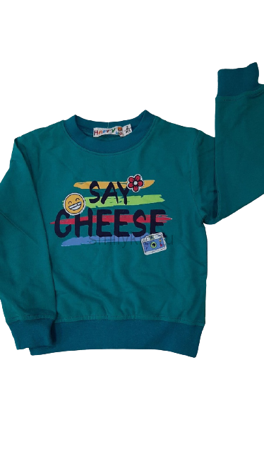"Кофты для девочки ""Say Cheese"" оптом | 5 шт"
