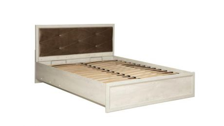 Кровать двуспальная с подъемным механизмом 32.26-02 Сохо (1600)