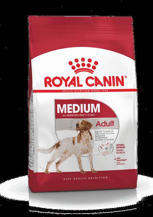 Royal Canin для взрослых собак средних пород (11-25 кг): 1-7лет (Medium Adult 25)